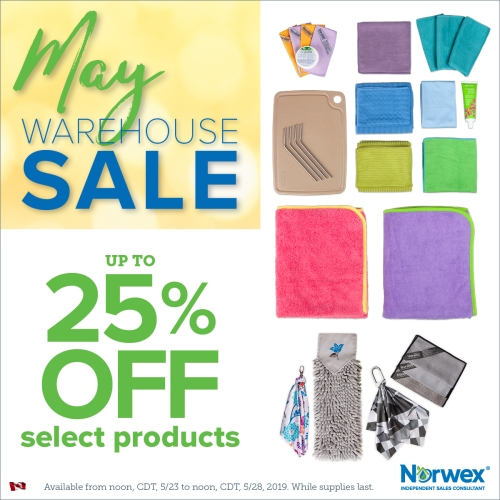 Norwex May Warehouse Sale