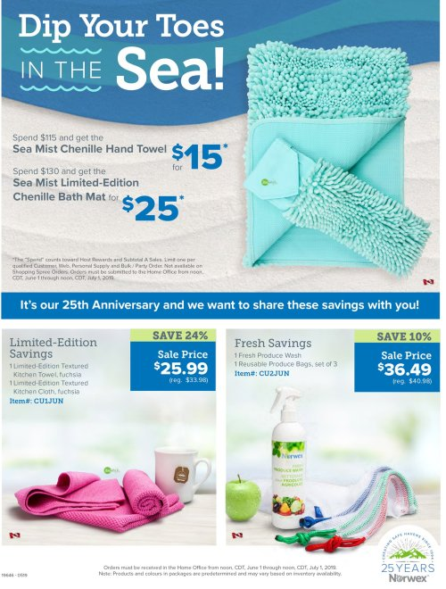 More Norwex Specials for June 2019